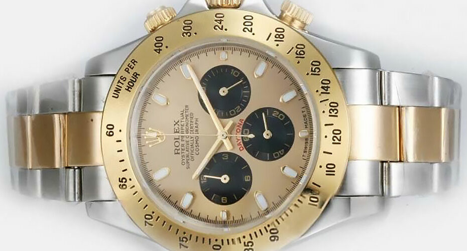 Rolex Daytona Gold Dial Replica
