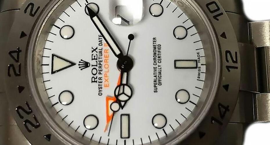 Rolex Explorer II White Dial Replica