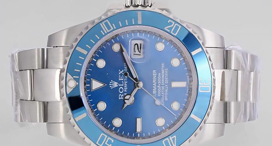 Rolex Submariner Blue Dial Replica