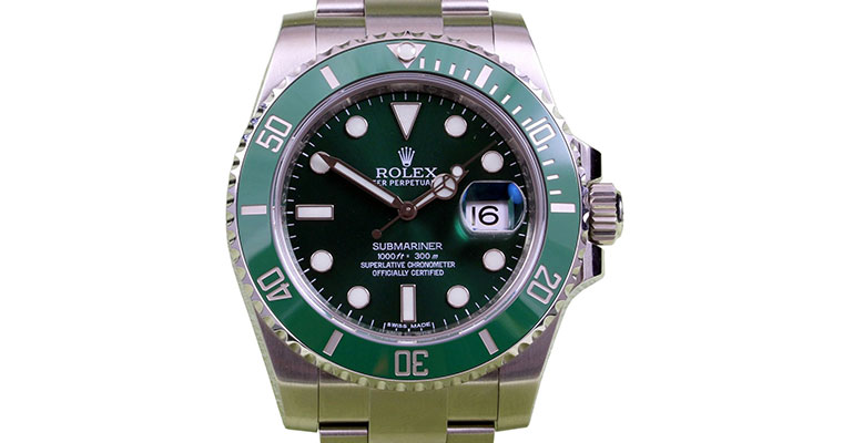 Rolex Submariner Steel Green Dial and Ceramic Bezel «Hulk» 1166610