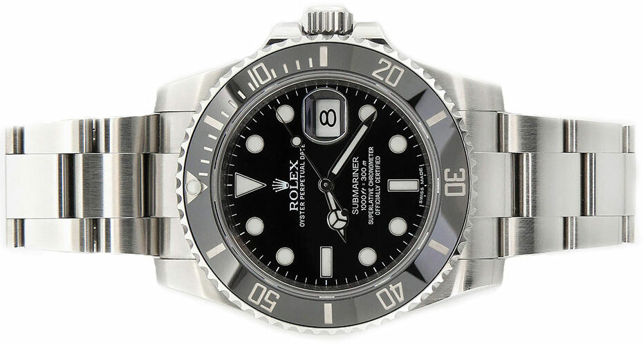 Rolex Submariner Steel Black Dial Ceramic Bezel 116610