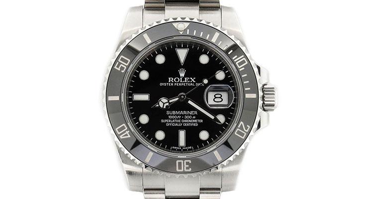 Rolex Submariner Steel Black Dial Ceramic Bezel 116610